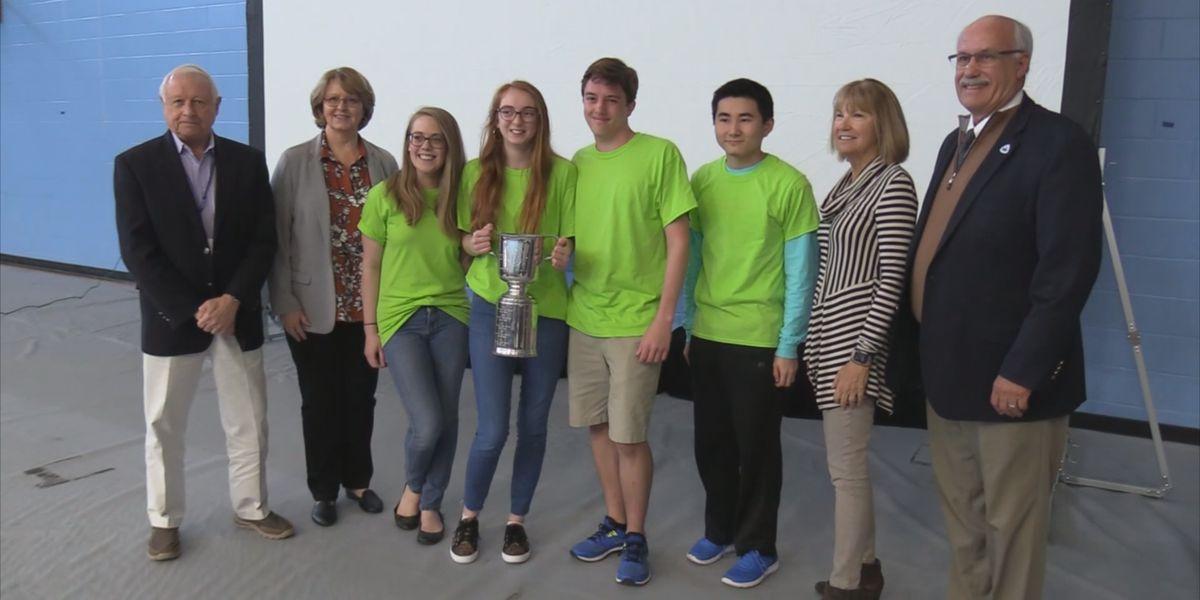 Bluffton High School wins Academic World Quest region title