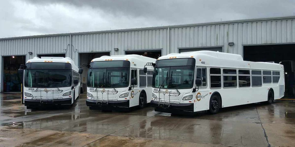 New CARTA express buses hit the roads