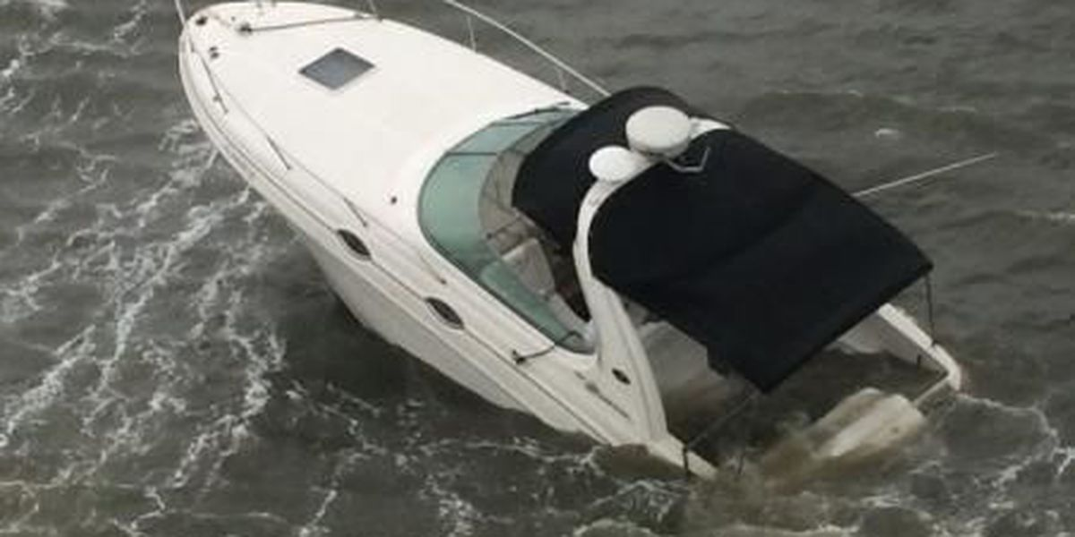 Coast Guard rescues boater from sinking vessel off Kiawah Island