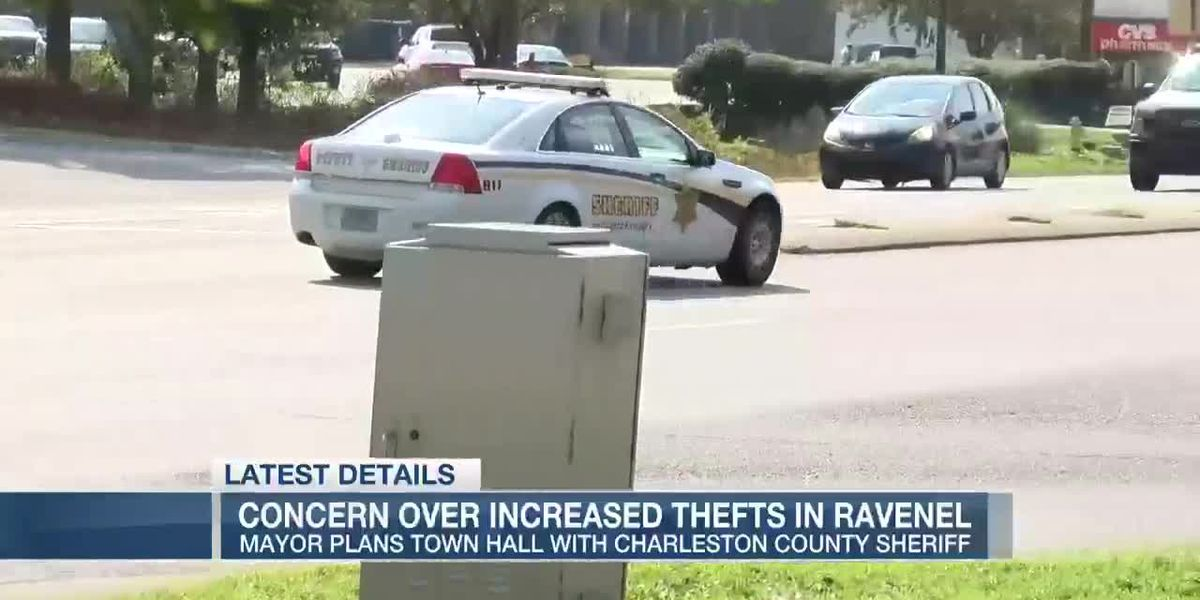 Ravenel mayor concerned about uptick in thefts in town