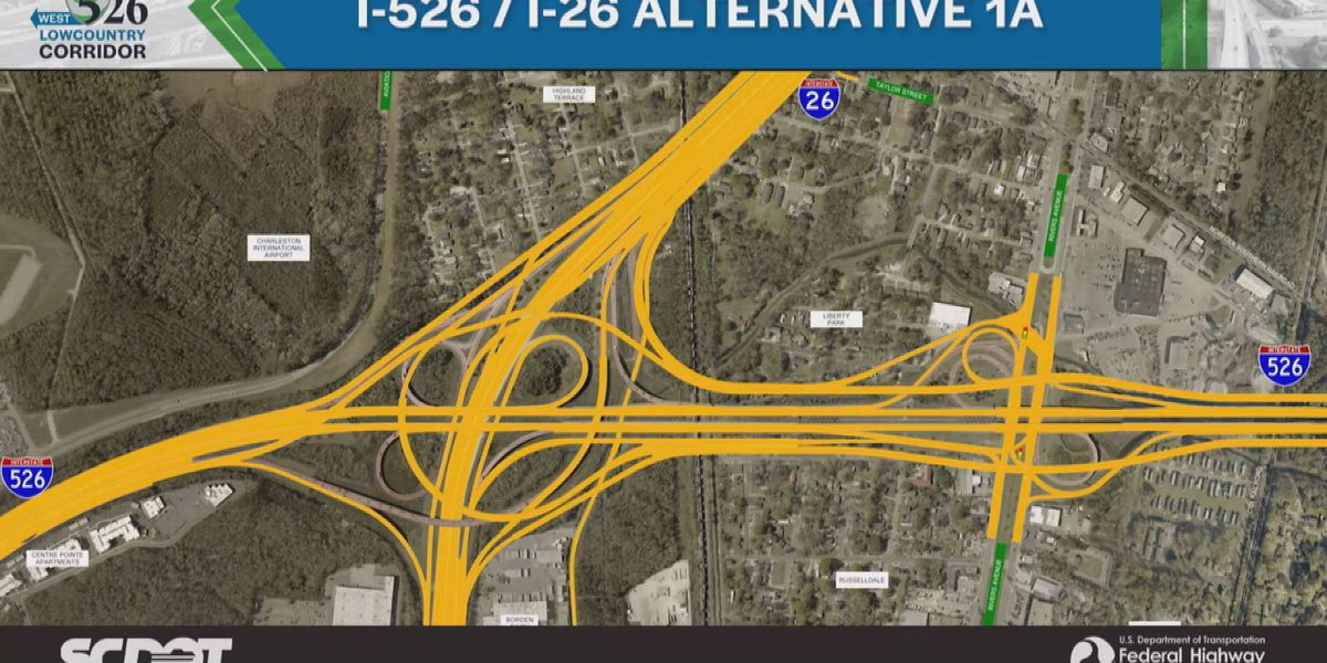 People to be moved out of homes for I-526 expansion, public input wanted
