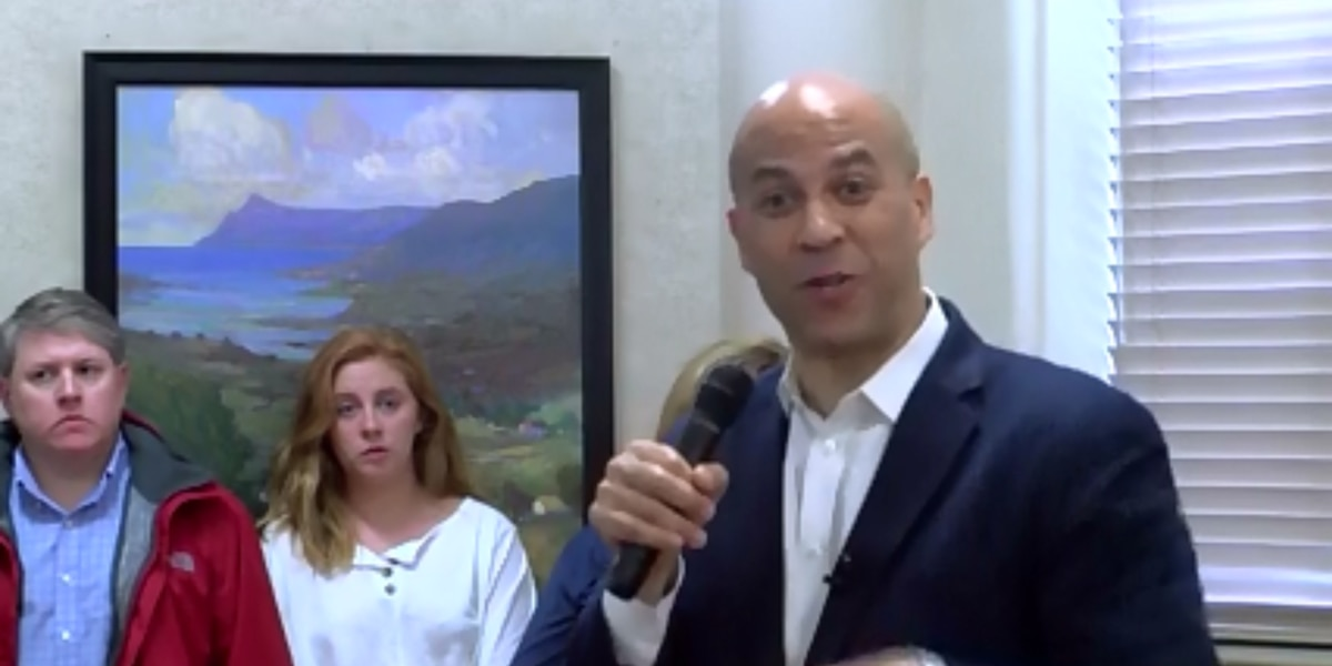 Cory Booker talks voter engagement, Iran strike in Colleton Co. town hall