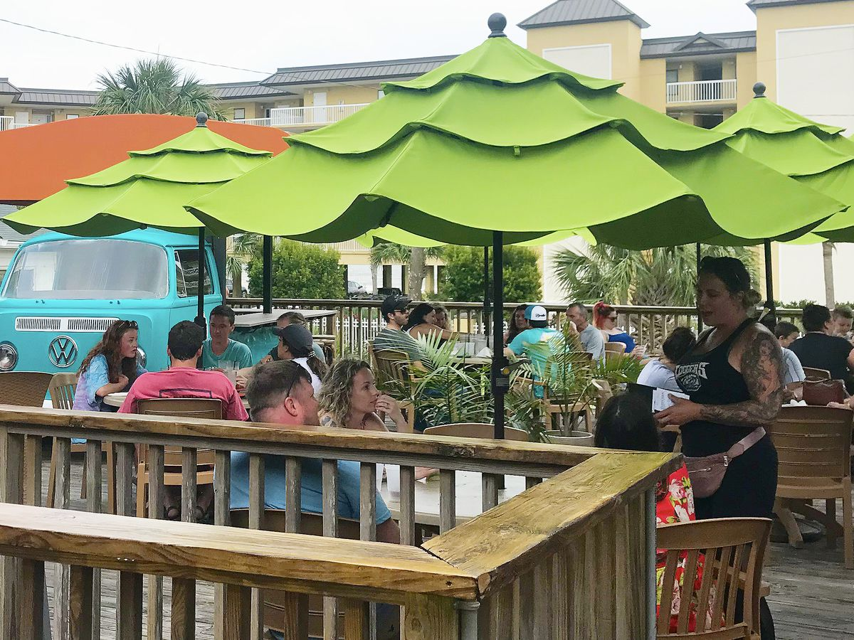 Folly Beach businesses see boom on Memorial Day