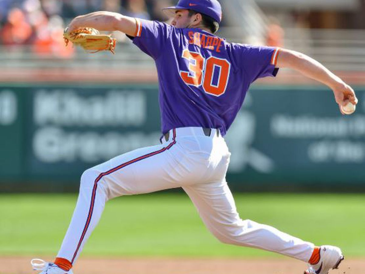 Clemson's Sharpe Collects ACC POTW Honor