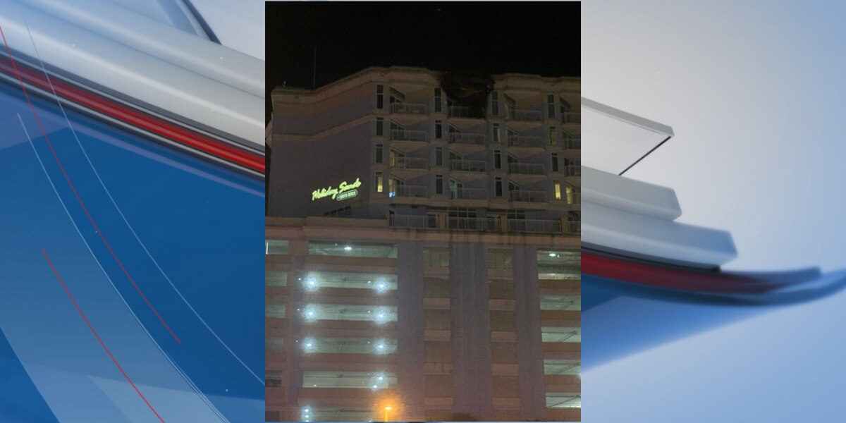 Officials: 1 hurt after structure fire at Myrtle Beach hotel