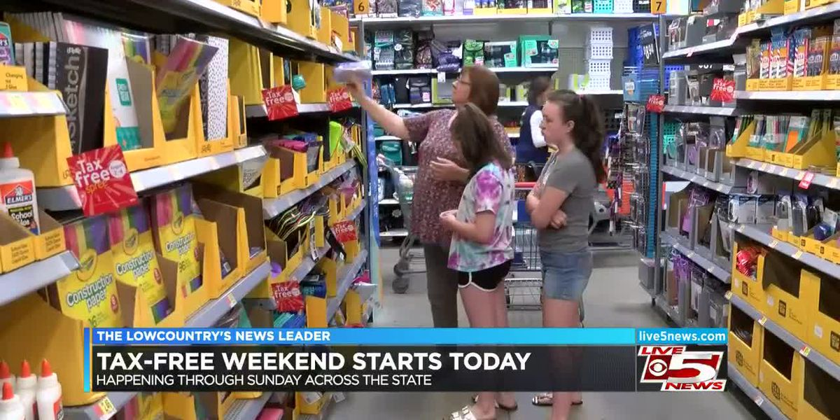 VIDEO: Tax-Free Weekend runs through Sunday night
