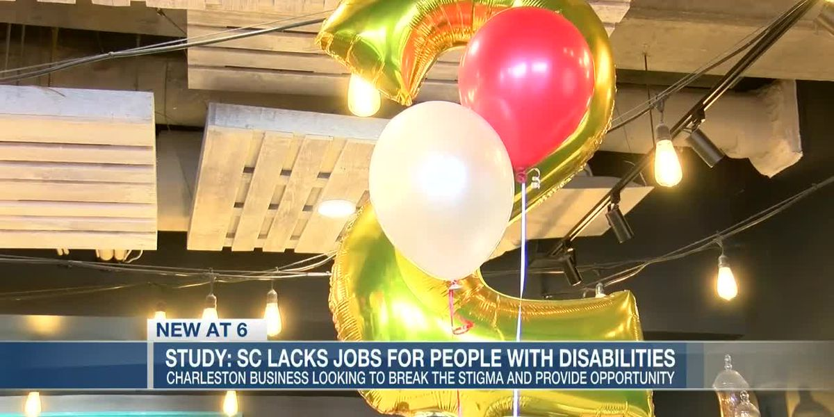 VIDEO: SC lacks jobs for people with disabilities, Charleston business looking to break the stigma