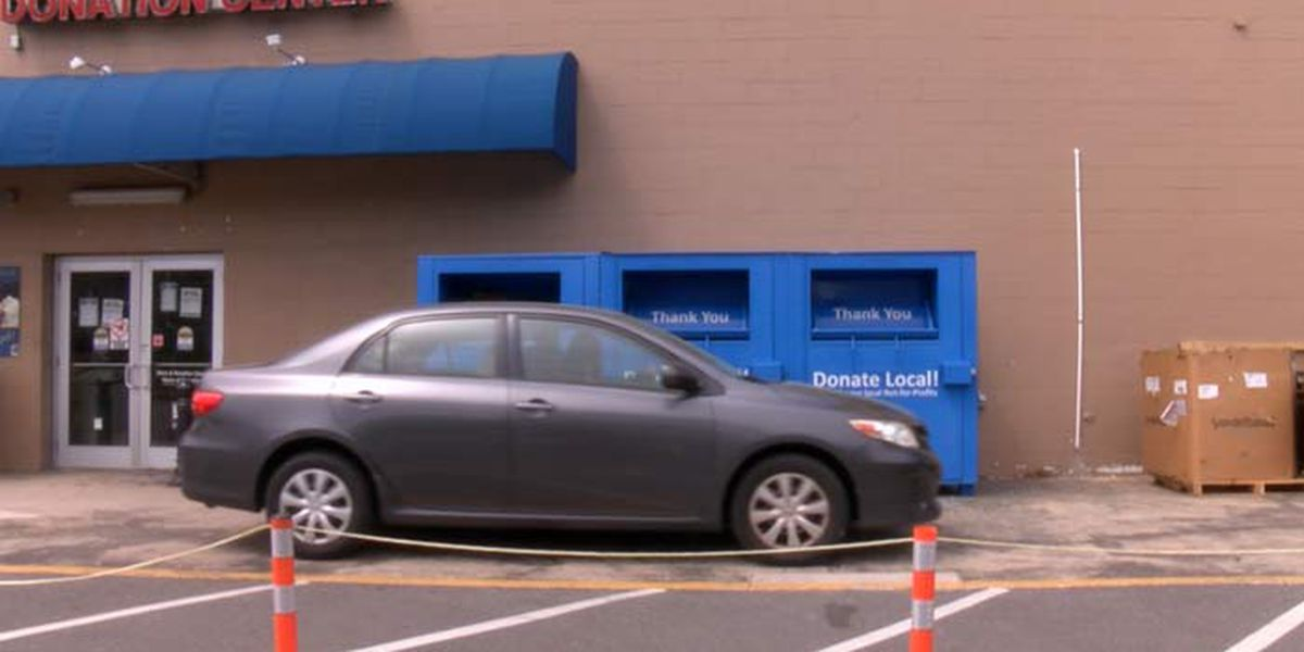 Goodwill donations increase as many clean out closets during quarantine