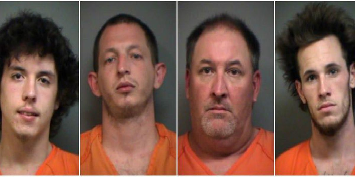 Four charged in Pawley's Island strong armed robbery