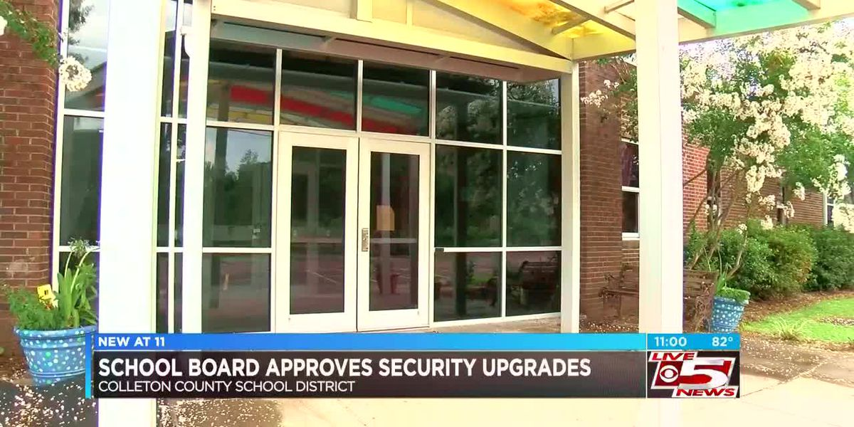 Colleton County School Board approves measures to upgrade security in schools