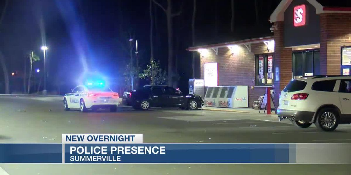 VIDEO: Summerville Police respond to overnight incident at gas station