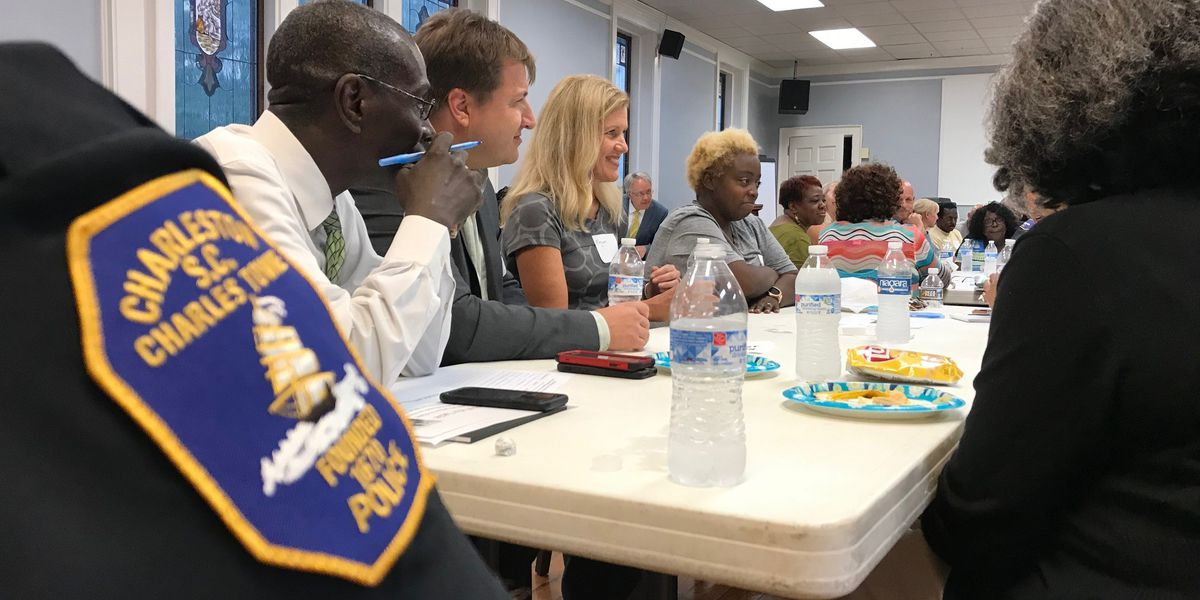 Charleston community holds second meeting month after fatal shooting
