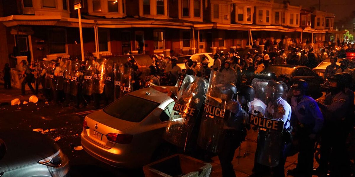 GRAPHIC: Philadelphia police face rebuke from city, Wallace family
