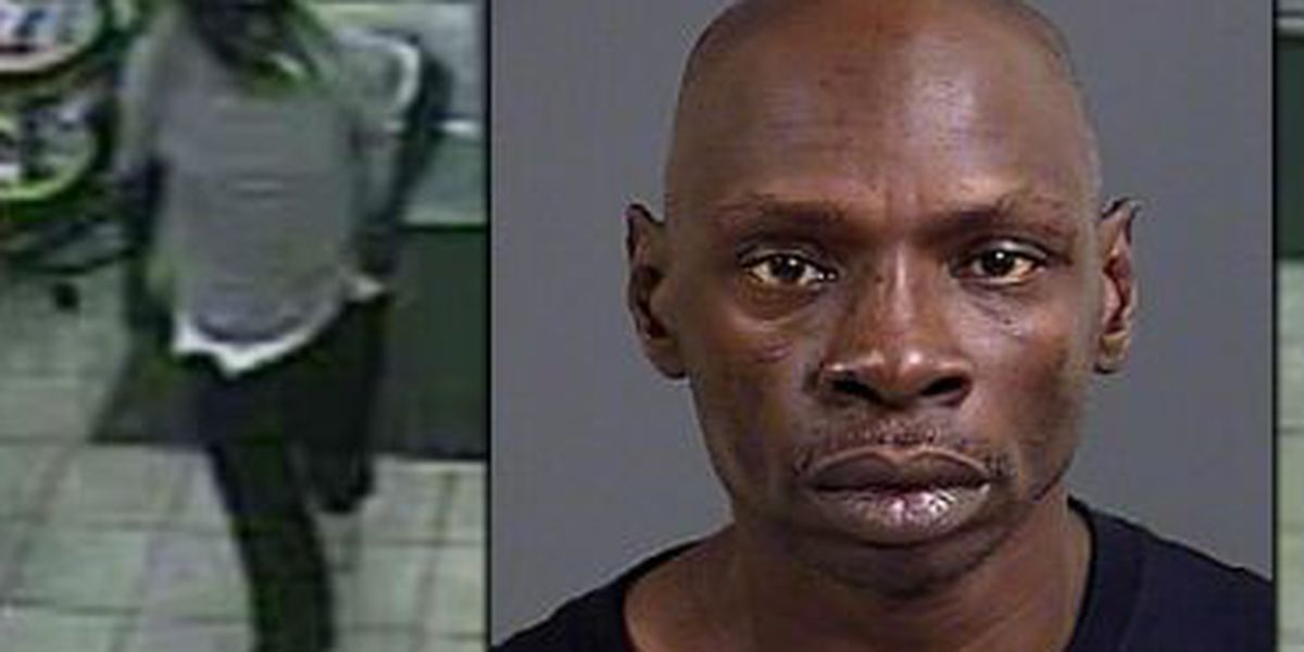 Police: Man charged after using broken champagne bottle in robbery