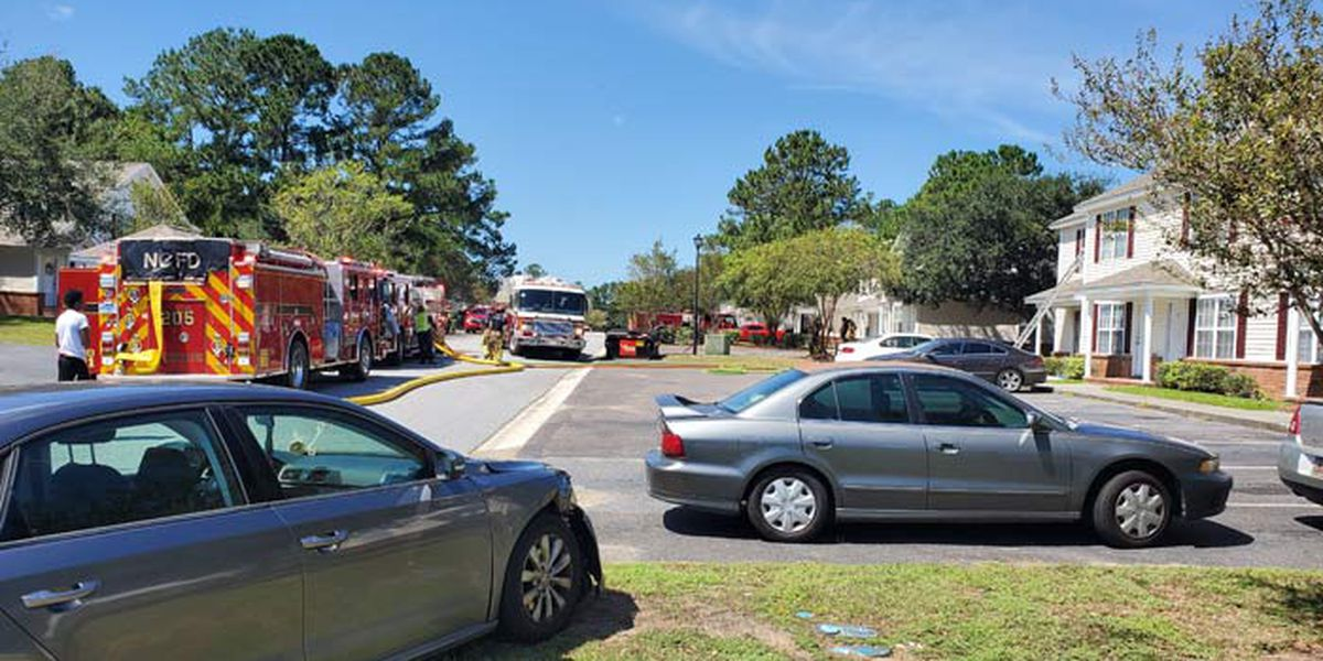 Crews responding to structure fire in N. Charleston