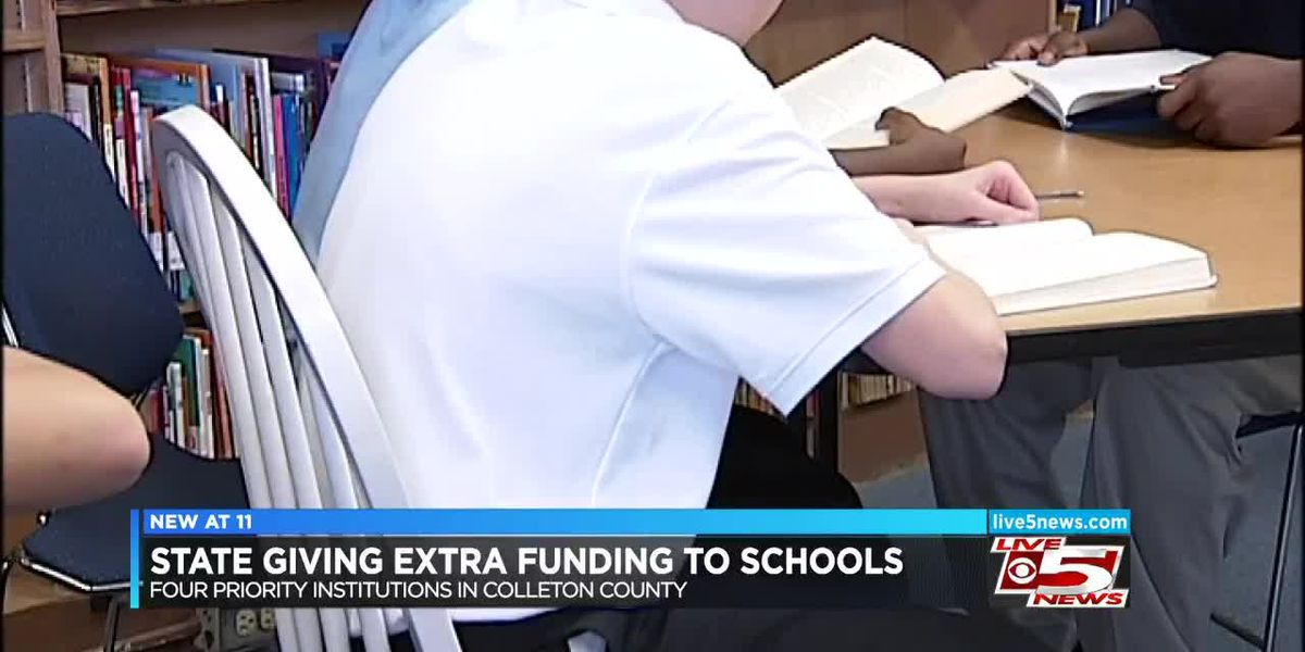 Low performing schools in Colleton County get extra funding to improve