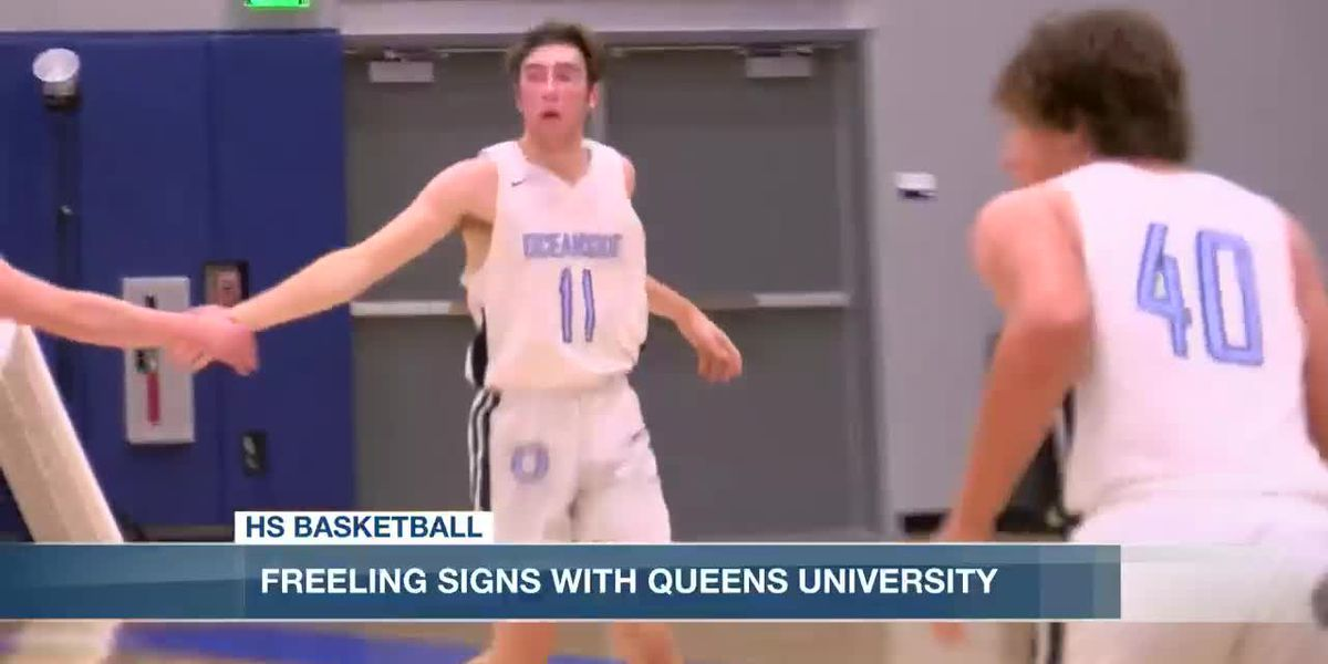 VIDEO: Oceanside's Tristan Freeling signs with Queens