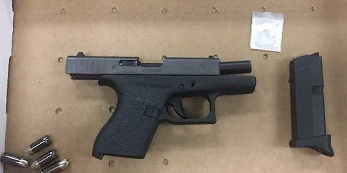 Police recover drugs, gun following North Charleston crash