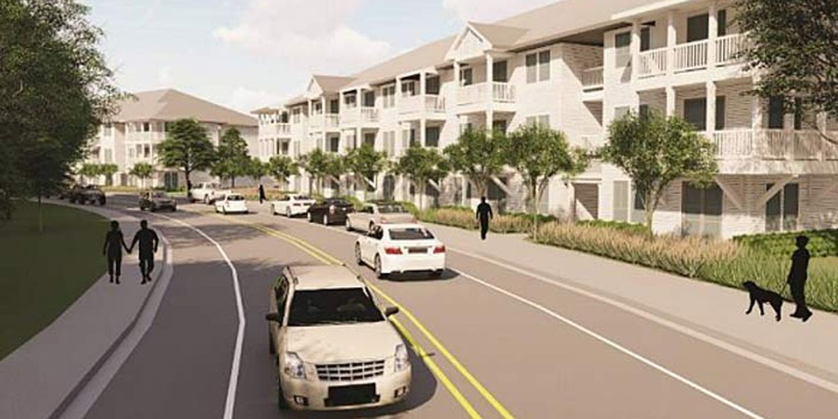 Johns Island may see over 200 new apartments on Maybank Highway
