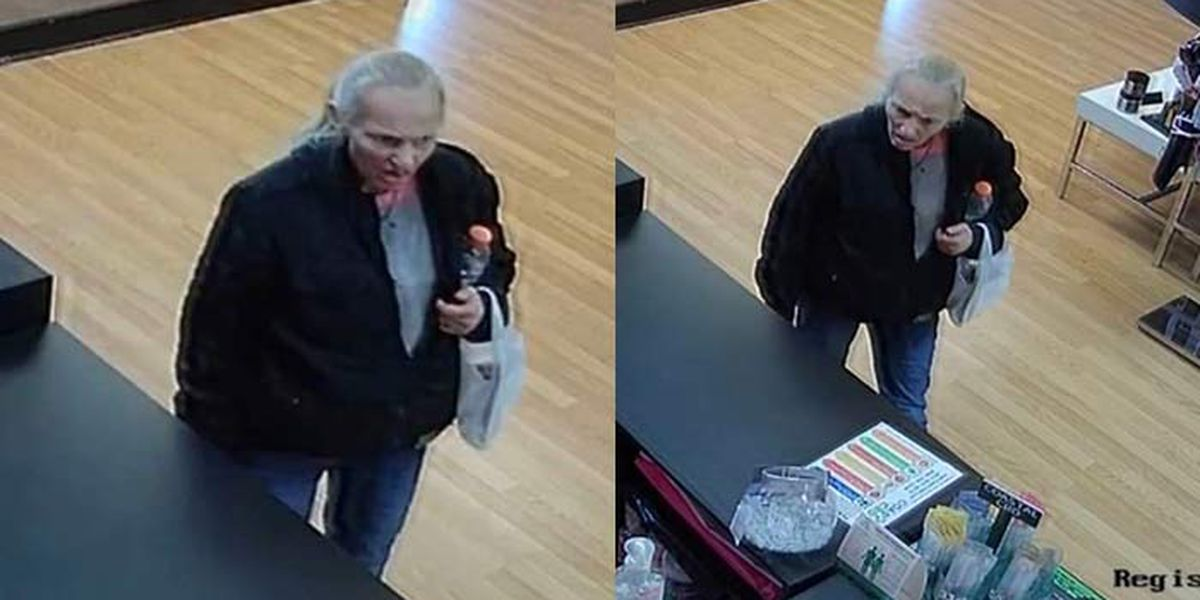 Deputies release surveillance pictures from purse theft