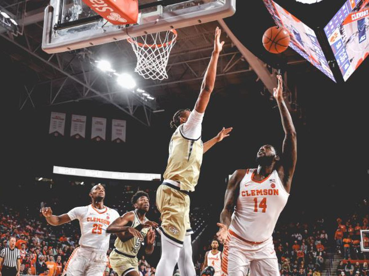 Reed Scores Career High 30 in Clemson's Wire-to-Wire Victory Over Georgia Tech