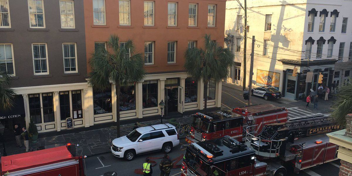 Police: E. Bay St. reopen after fire call