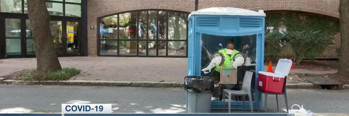 VIDEO: MUSC Health rolling out portable pods for COVID-19 testing