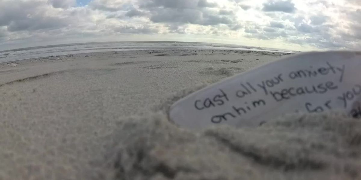 This is Carolina: Two women leave messages of hope, love in seashells