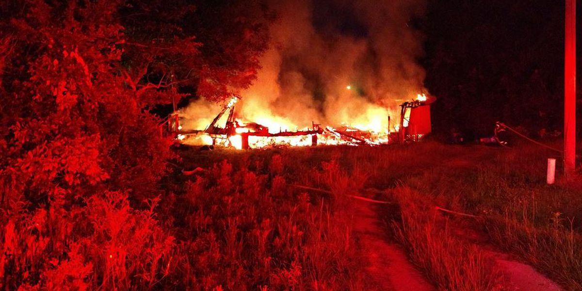Crews extinguish vacant house fire in Mt. Pleasant