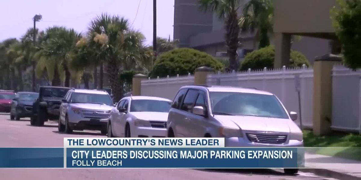 VIDEO: Folly Beach considering increasing number of paid parking spaces near beach