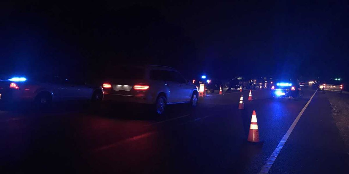 Mt. Pleasant police using extra patrols, check points leading into New Year's Eve