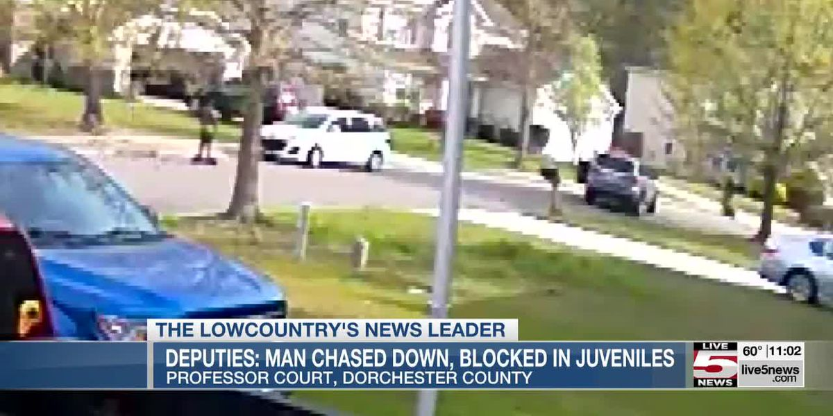 VIDEO: Man accused of chasing, blocking juveniles in Dorchester County