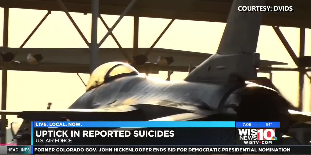 'Is anyone looking into this?' Community concerned after third reported suicide at Shaw Air Force Base this year