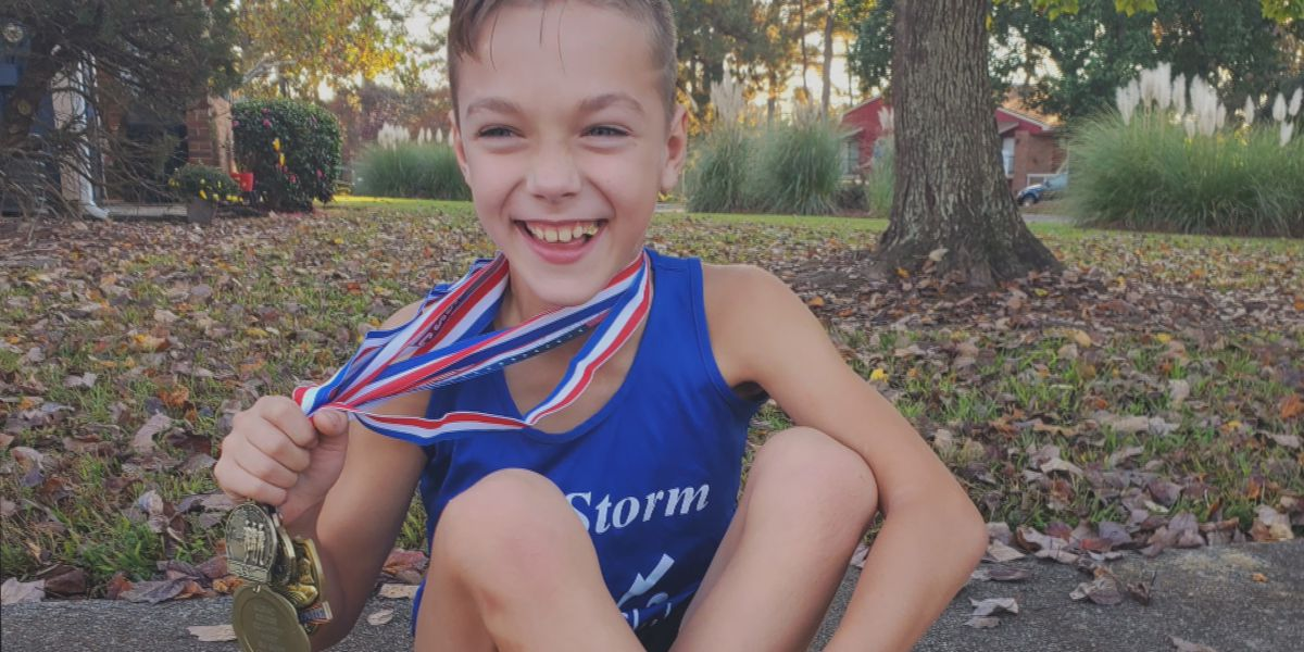 8-year-old who emigrated from Ukraine will soon compete in US national track championships