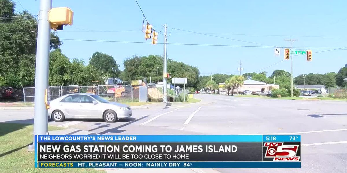 VIDEO: James Island residents concerned new gas station would be too close to homes