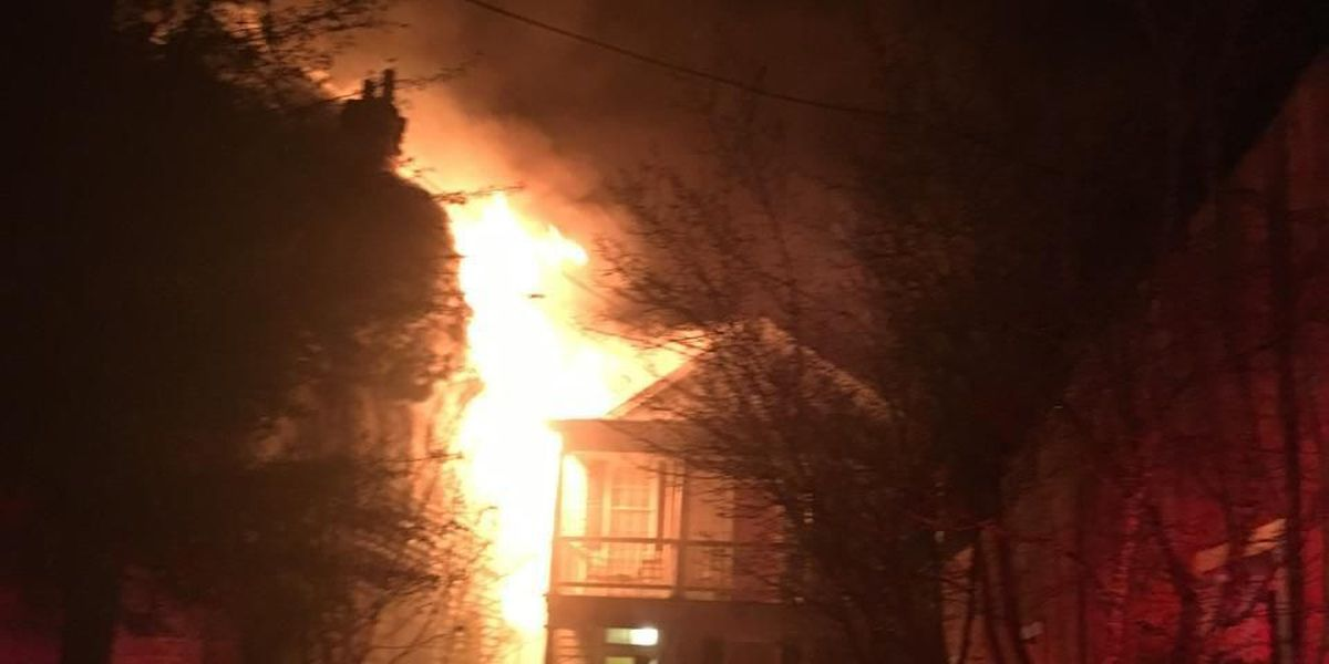 Firefighters: Fire on Spring Street may have been caused by homeless people trying to stay warm