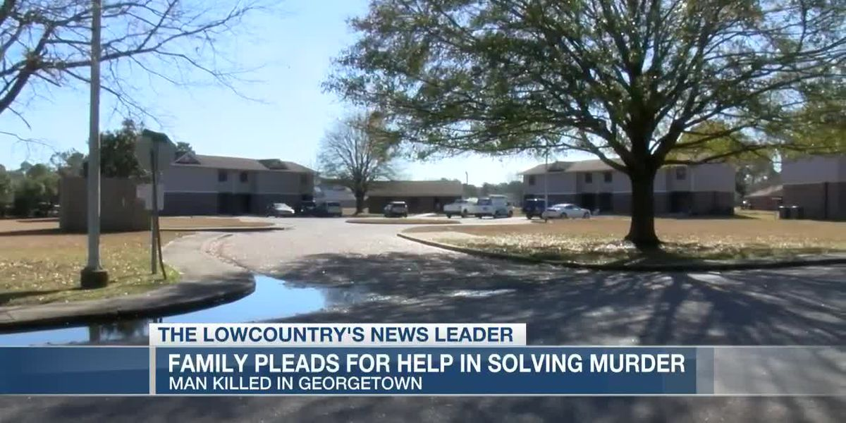 VIDEO: Family asking for community's help in solving Georgetown murder