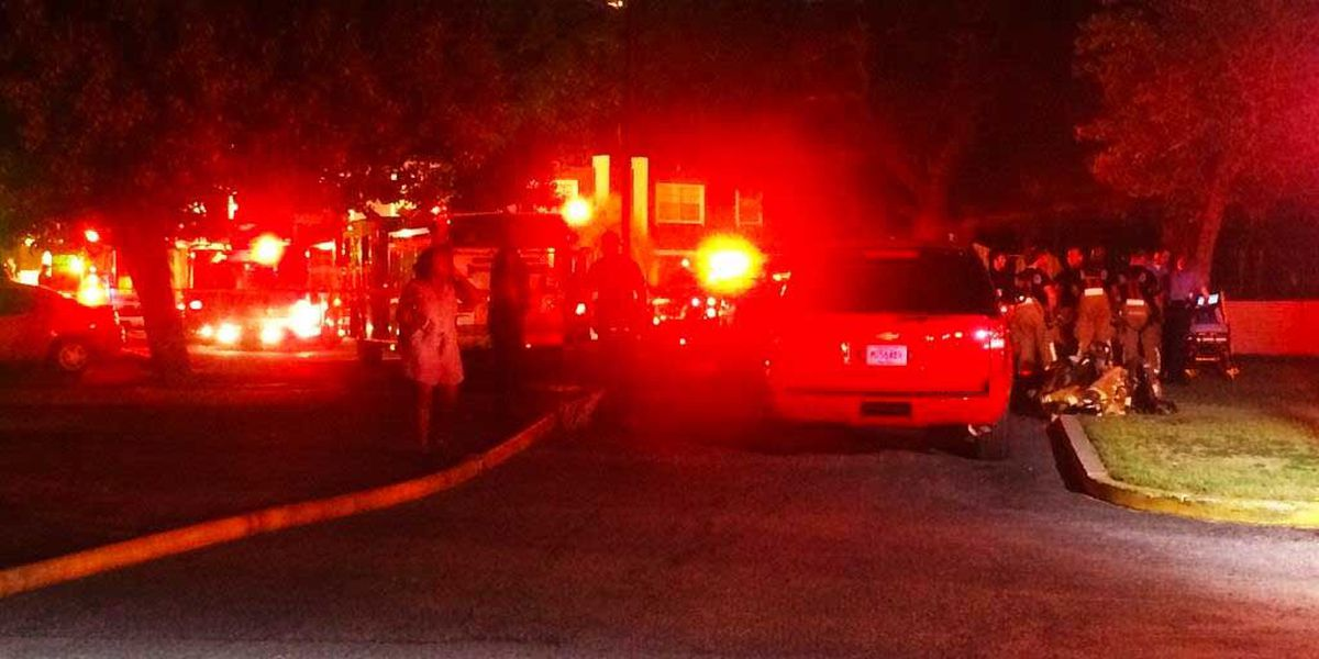 Two people in critical condition following N. Charleston apartment fire