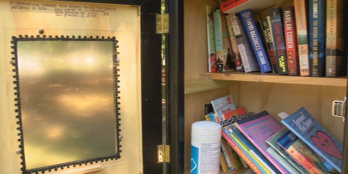 Lowcountry Strong: Three generations build 'Little Free Library' in Mt. Pleasant