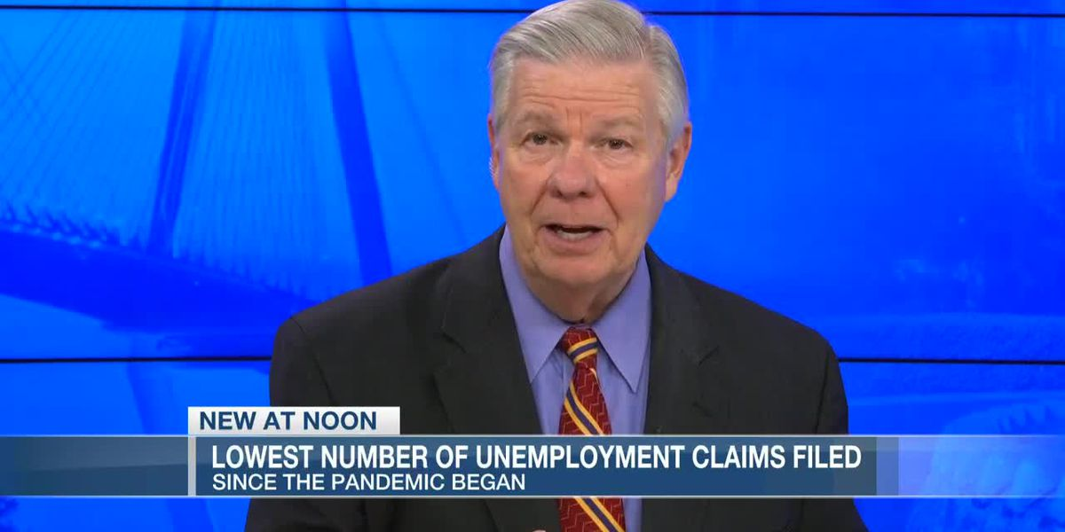 VIDEO: S.C. reports lowest total of new weekly unemployment claims since pandemic began