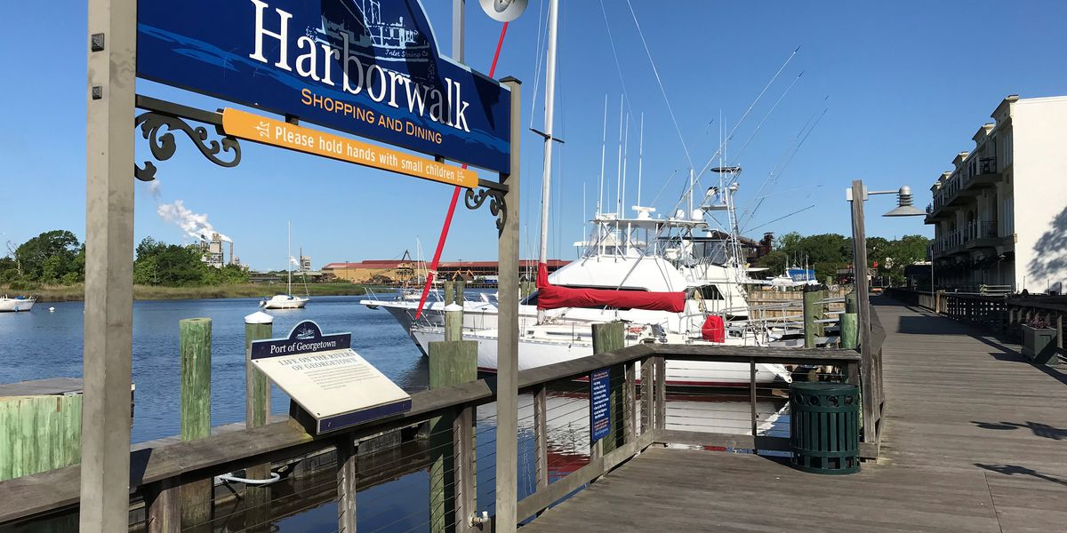 Sections of Georgetown's Harborwalk will be closed during long-term repair project