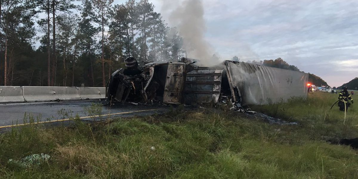 FIRST ALERT: All I-26 lanes reopened following tractor trailer crash; driver cited