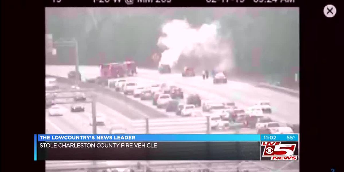 VIDEO: Car fire on I-26 near Ashley Phosphate Road causes backups