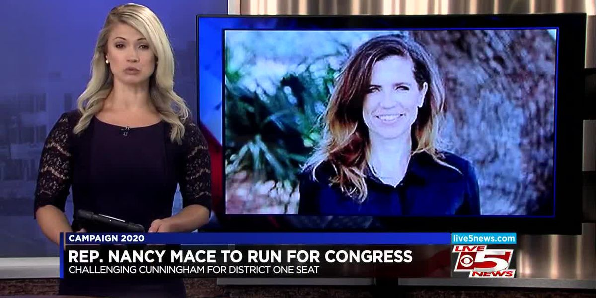 VIDEO: Nancy Mace announces run for First Congressional District seat