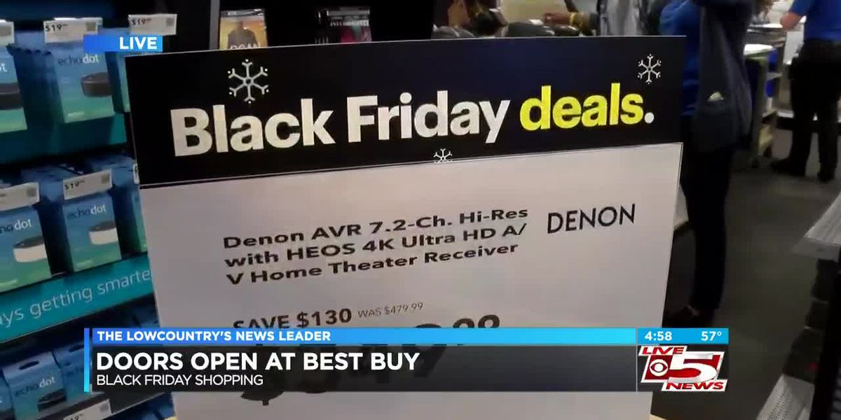 VIDEO: Lowcountry shoppers trying to get a head start on Black Friday