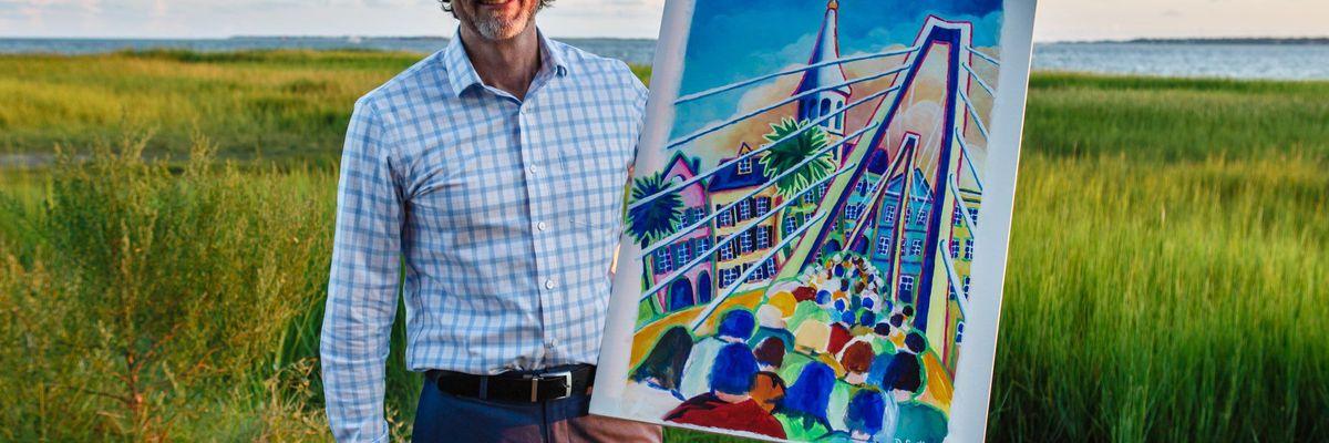 Official 2019 Cooper River Bridge Run artwork unveiled