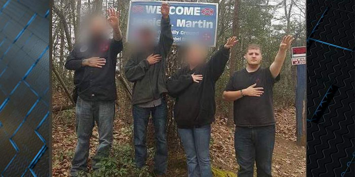 Cottageville Police officer says he was forced to make Nazi salute