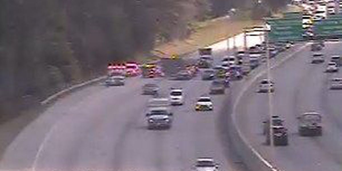 I-26 WB traffic back to normal after accident near Aviation Avenue