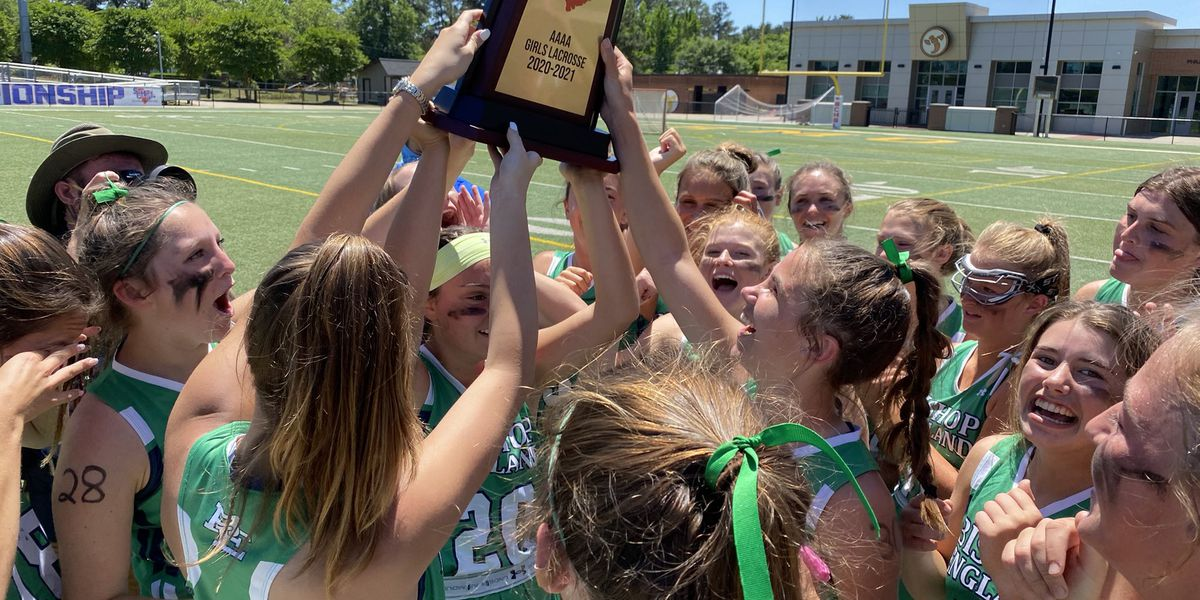 Bishop England girls and boys lacrosse win 4A state titles