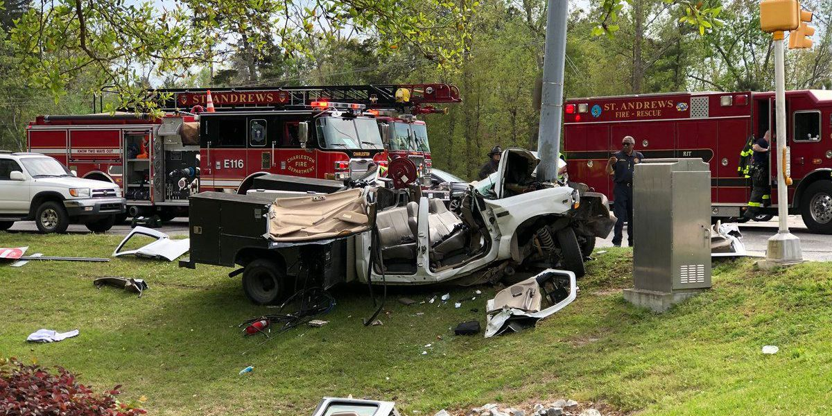 Coroner identifies driver killed in West Ashley accident